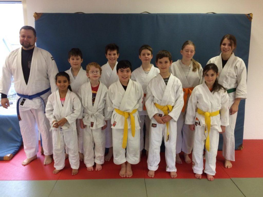 Ju-Jutsu- Prüfungen im Shotokan-Club